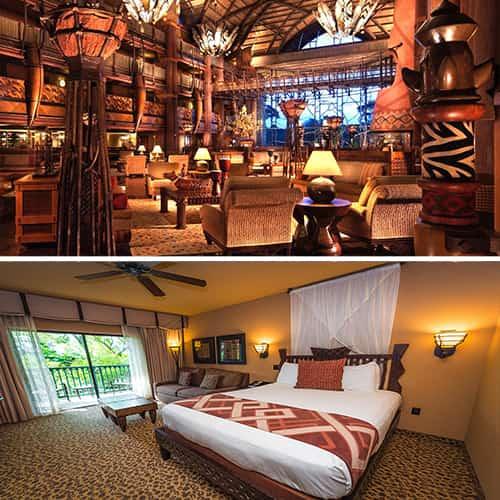 Disney's Animal Kingdom Lodge Hotel Orlando-fl