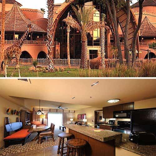 Disney's Animal Kingdom Villas - Kidani Village Hotel Lake Buena Vista -fl
