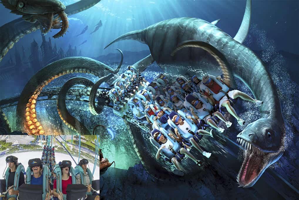 SeaWorld Kraken